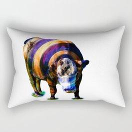 Cosmic Cow II Rectangular Pillow