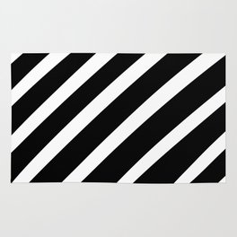 Black'n'White Stripes Rug