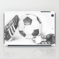 football iPad Cases featuring Football by Dianadia