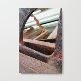 Barefoot Metal Print