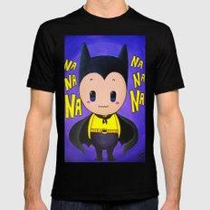 Bat Costume Black Mens Fitted Tee MEDIUM