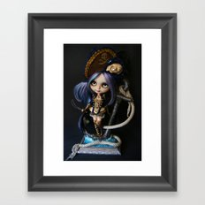 LADY BUCCANEER PIRATE OOAK BLYTHE ART DOLL Framed Art Print