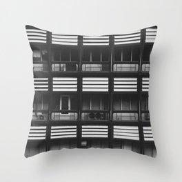 Porches Throw Pillow