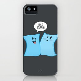 Pillow Talk iPhone Case