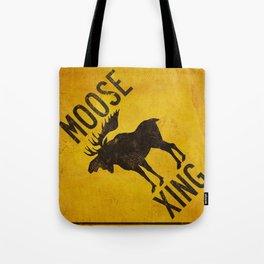 Moose Crossing XING Tote Bag