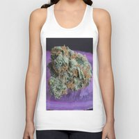 medical Tank Tops featuring Jenny's Kush Medical Weed by BudProducts.us