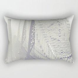 59th street bridge... Rectangular Pillow