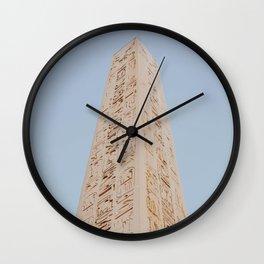 Karnak III / Egypt Wall Clock