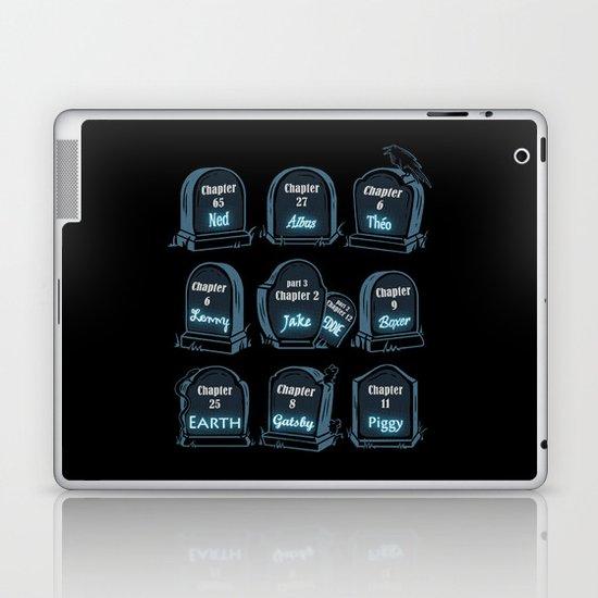 Spoiler Graveyard Laptop & iPad Skin