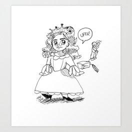 La Brusina princess Art Print