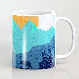 Wild mountain sunset landscape Coffee Mug
