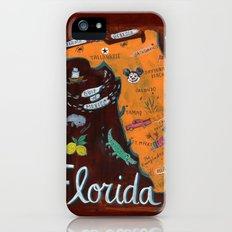 FLORIDA iPhone (5, 5s) Slim Case
