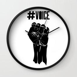 #VOICE Wall Clock
