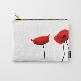 Simply poppies Carry-All Pouch