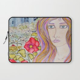 Lady of the blue manor Laptop Sleeve