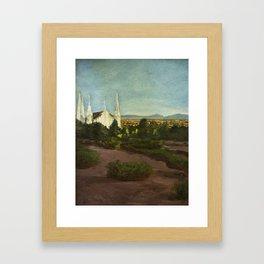 Las Vegas Temple Framed Art Print