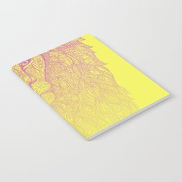 light up lion Notebook