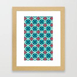 Carlitos Cameo blue Framed Art Print