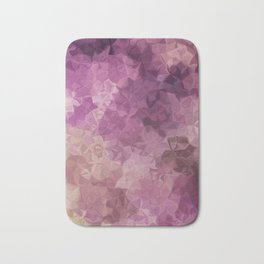 Abstract painting color texture Bath Mat