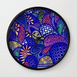 Tropical Jungle IV Wall Clock