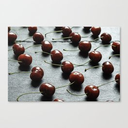 Food knolling Canvas Print