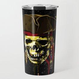 The Dark Eyes Of Pirates Travel Mug