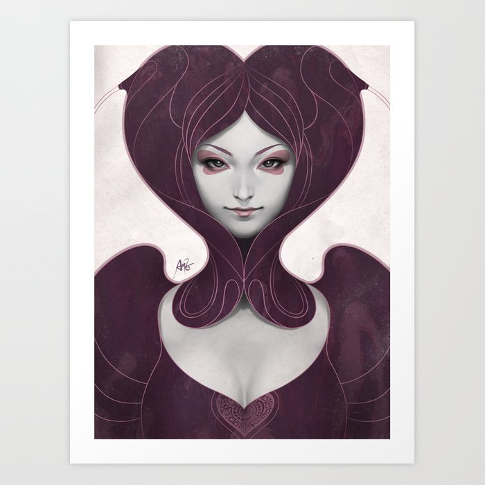 Discover the motif PEPPER HEART by Stanley Artgerm Lau as a print at TOPPOSTER