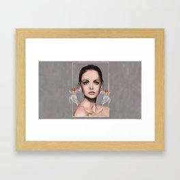 her dream Framed Art Print