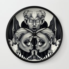 """Tattoeums VII"" Wall Clock"