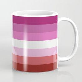 Lesbian Flag Coffee Mug
