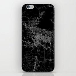 tucson map iPhone Skin