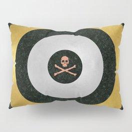 Precious Metal Target Pillow Sham