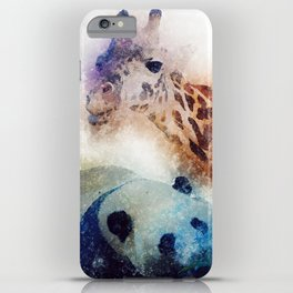 Animals Painting iPhone Case