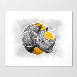 Jericho Canvas Print