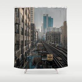Morning Fader Shower Curtain