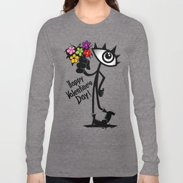 Eye Happy Valentine's Day Long Sleeve T-shirt