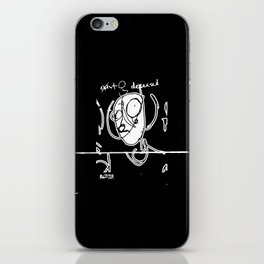 Exist and Deceased iPhone Skin