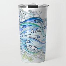 Ocean Seaweed Travel Mug