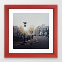 Amsterdam mornings Framed Art Print