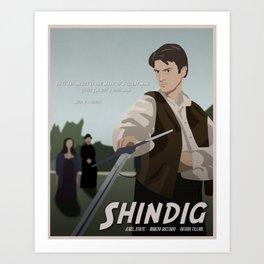 Shindig Art Print