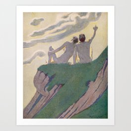 """""""I do not know what it is except that it is grand, and that it is happiness"""" Art Print"""