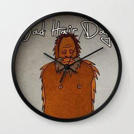 bad hair day no:4 / Bigfoot Wall Clock