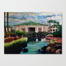 Kauai Grand Hyatt Resort Canvas Print