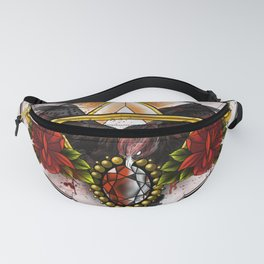 Wings of Gold Fanny Pack
