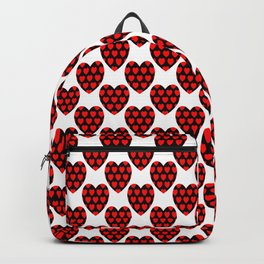 Decorative hearts Backpack