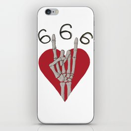 Number of The Beast iPhone Skin