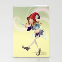 wizard Stationery Cards featuring Wizard by Joey