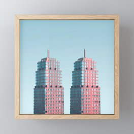 Penthouse Twins Framed Mini Art Print