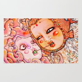 Octopus Love Rug