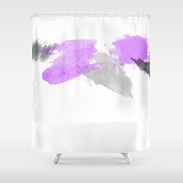 A spash of color Shower Curtain